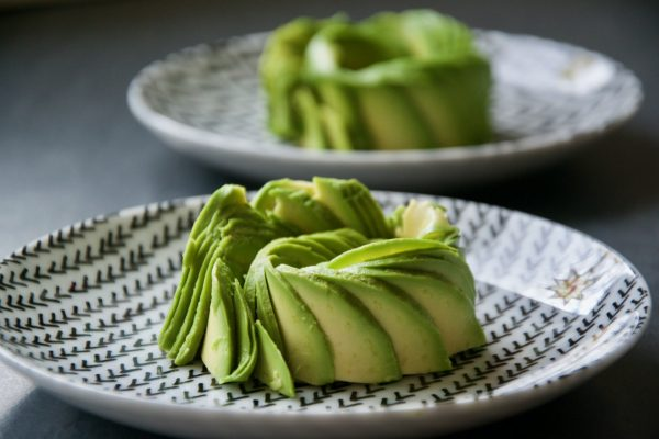 Avocado Rose, avocado, lecker, gesund, einfach, schnell, Snack, Valentinstag, Rose