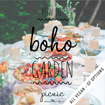 easy vegan boho garden birthda picnic therawberry 8