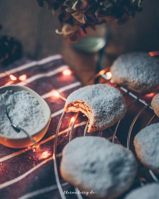 quark christmas cookies therawberry